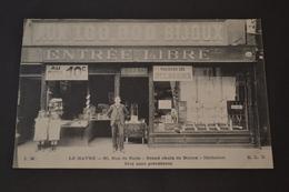 Carte Postale 1900 Le Havre 60,rue De Paris Grand Choix De Bijoux Magasin Aux 100000 Bijoux - Autres
