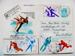 Cover Ussr Olympic Games Moscow 1980 Registered Figure Skating Ice Hockey - Summer 1980: Moscow