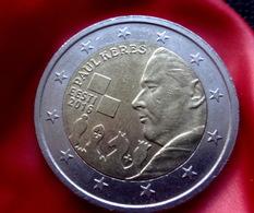 Estonia ESTLAND 2 EURO Gedenkmünze Schachmeister , Schach Coin  2016 CIRCULATED - Estonie