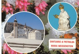 12313-SANTUARIO DI PIETRALBA-NOVA PONENTE(BOLZANO)-FG - Luoghi Santi