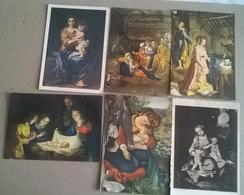 6 CART. MADONNA CON FIGLIO    (133) - Cartoline
