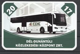 "Hungary, Kaposvár, Public Transport Co., ""Credo"" Bus, 2017. - Small : 2001-..."