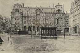 CRUE DE LA SEINE  Janvier 1910 PARIS  Gare St Lazare RV Bouiilon Granulé Maggi - Inondations De 1910