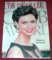Morena Baccarin  TV REVIJA Serbian April 2013 - Livres, BD, Revues