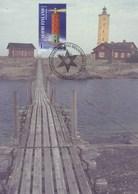 5 Cartes Modernes De Cartes De PHARES En FINLANDE ,non Ecrite ,vous Pouvez Les Envoyer à Des Amis - Finlande