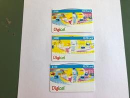 Anguilla - 3 Different Cards - Anguilla