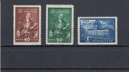 RUSSIA 1949  MiNr. 1311-1313 MNH (**) - Nuovi