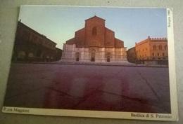 BOLOGNA PIAZZA MAGGIORE BASILICA DI SAN PETRONIO BOLOGNA 1980(145) - Bologna