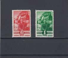 RUSSIA 1949  MiNr. 1341-1342 MNH (**) - 1923-1991 USSR