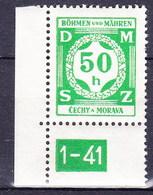 Boheme Et Moravie 1941 Mi D 3 (Yv TS 3), (MNH)** - Bohemia & Moravia