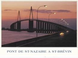 France St Nazaire Bridge At St Brevin Postcard Unused Good Condition - Saint Nazaire