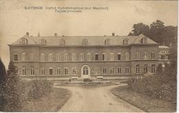 Sleydinge.   Institut Hydrothéraplique Pour Messieurs.   Façade Principale  -  1930  Naar  Bruxelles - Evergem