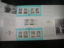 """BELG.1962 1224 FDC Folder Fr.: """" Koninginnen Van België / Reines De Belgique  """" - FDC"""