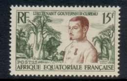 French Equitorial Africa 1954 Governor Cyreau MLH - Nuevos