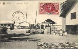Cp Dem. Rep. Kongo Zaire, Factorerie A Banana - Sonstige