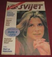 Nastassja Kinski SVIJET Yugoslavian February 1985 VERY RARE - Livres, BD, Revues