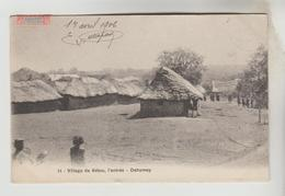 CPA KETOU (Bénin Ex. Dahomey) - L'Entrée Du Village - Benin