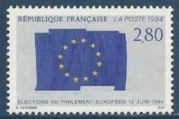 "FR YT 2860 "" Elections Au Parlement Européen "" 1994 Neuf** - France"