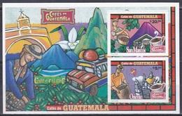 Guatemala 2006 Wirtschaft Economy Landwirtschaft Agriculture Kaffeeanbau Kaffee Coffee Kaffeetasse, Bl. 43 ** - Guatemala