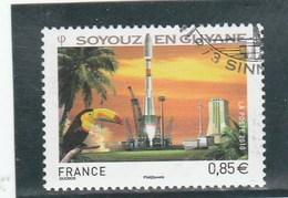 FRANCE 2010 SOYOUZ EN GUYANE  YT 4458 - OBLTERE - Frankrijk
