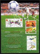 China Hong Kong 2002  World Cup Football Games Stamp Joint Macau Hongkong Sheetlet Folder - Wereldkampioenschap