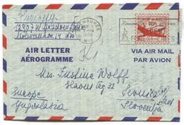MILWAUKEE - United States, Air Mail Cover 1956. Traveled For Sevnica Slovenia - Verenigde Staten