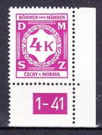 Boheme Et Moravie 1941 Mi D11 (Yv TS 11), (MNH)** - Bohemen En Moravïe