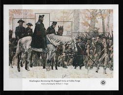 US 1976 Sheet American Revolution Issue 31c G.Washington At Valley Forge,Scott # 1689,VF MNH** (RN-8) - George Washington