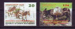 Northern Macedonia 2019 Y Fauna Animals Donkey MNH - Macedonië