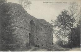 Salm-Château    -   Ancienne Prison.    -    Prachtige Kaart!   -   1924   Naar   Bruxelles - Vielsalm