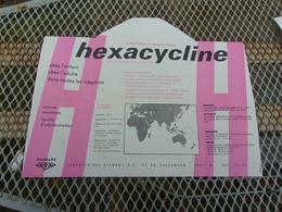 HAUTE VOLTA (1964) PUB Hexacycline (laboratoires Diamant) - Haute-Volta (1958-1984)
