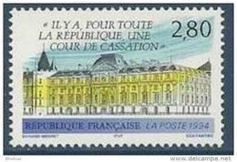 """FR YT 2886 """" Cour De Cassation """" 1994 Neuf** - Frankrijk"""