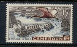 Cameroun 1953 Eden Dam & Sacred Ibis, Bird MLH - Tsjaad (1960-...)