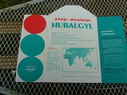 HAUTE VOLTA (1964) PUB Nulbalgyl (laboratoires Diamant) - Haute-Volta (1958-1984)