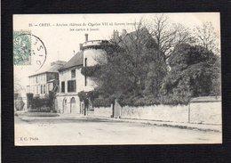 60 Creil / Ancien Château De Charles VII Ou Furent Inventées Les Cartes à Jouer - Creil