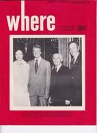 Revue WHERE 1976 - Livres, BD, Revues
