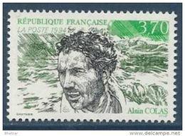 """FR YT 2913 """" Alain Colas """" 1994 Neuf** - France"""