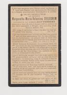 DOODSPRENTJE SIELEGHEM MARGARETHA KORTRIJK BRUGGE (1889 - 1920) - Devotieprenten