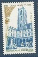 "FR YT 3032 "" Lycée Henri IV "" 1996 Neuf** - France"