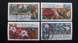 Deutschland Berlin 744/7 Oo/used, Wohlfahrt 1985: Pflanzen, Vögel Insekten A. Bordüren E. Mittelalterlichen Gebetbuches - [5] Berlin
