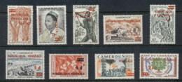 Cameroun 1961 Federal Republic Opts - Cameroun (1915-1959)
