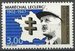 "FR YT 3126 "" Maréchal Leclerc "" 1997 Neuf** - France"