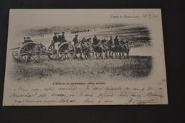 Carte Postale 1903 Pour Le Mexique Camp De Brasschaet Artillerie De Campagne - Belgique