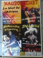 Affiche - Dp 65 -  Maubourguet  La Nuit De L'Afrique - Affiches & Posters