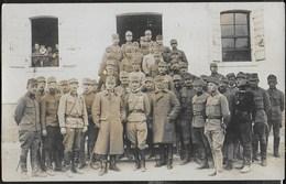 PRIMA GUERRA MONDIALE - SOLDATI AUSTRIACI IN POSA - FORMATO 13,70X 9,00 - ORIGINALE D'EPOCA - War, Military