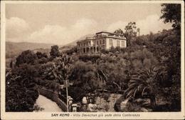 Cp Sanremo Ligurien, Villa Devachan Gia Sede Della Conferenza - Italien