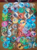 Lot De 52 Differents Pogs Pog Caps Taps Disney Pixar En Plastique - Altre Collezioni