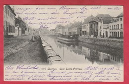 Tournai - Quai Taille-Pierre - 1903 ( Voir Verso ) - Doornik
