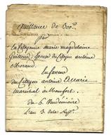 Quittance De 300 Francs Du 6 Vendémiaire An 3 De La République - Manuscripts