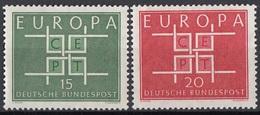Germania 1963 Sc. 867-868 Europa CEPT Full Set MNH Germany - Europa-CEPT